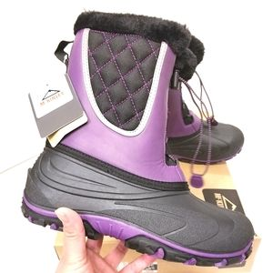 Mckinley Apollo Girl's Waterproof Winter Boots NWT